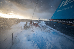 Leg 3, Cape Town to Melbourne, day 13, Southern Ocean sailing on board Vestas 11th Hour. Photo by Sam Greenfield/Volvo Ocean Race. 22 December, 2017.