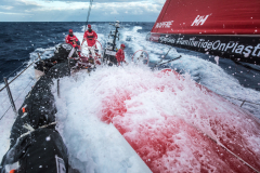 Leg 02, Lisbon to Cape Town, day 02, start on board MAPFRE. Photo by Ugo Fonolla/Volvo Ocean Race. 06 November, 2017