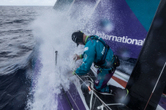 Leg 02, Lisbon to Cape Town, day xx, on board AkzoNobel. Photo by James Blake/Volvo Ocean Race. 08 November, 2017.