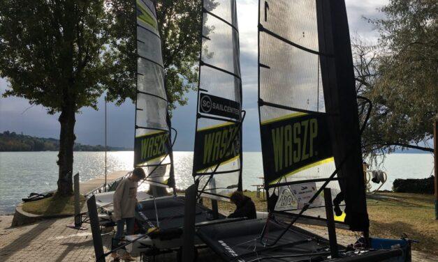 Foiling Balaton – első nap